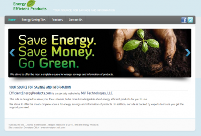 Efficient Energy Products
