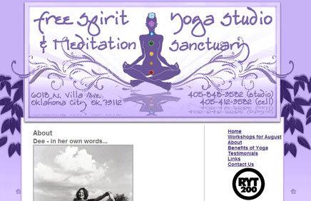 free spirit yoga studio developerchick. Black Bedroom Furniture Sets. Home Design Ideas